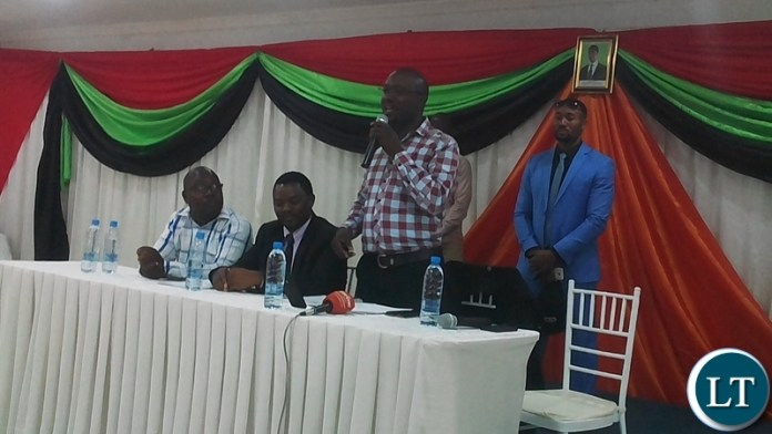 Kabwe's  Public Forum organised by the Young African Leaders Initiative (YALI) with the backing of the Constitutional Reform and Education Coalition (CRECO)