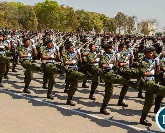 Public Order Police Officers Pass out at Kanfinsa School of Public Maintenance