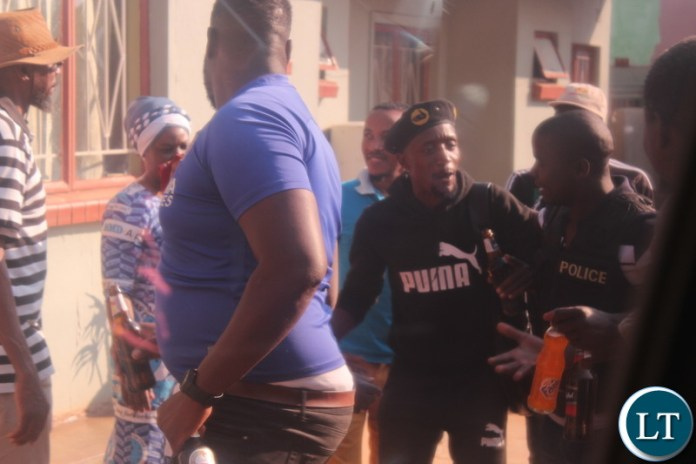 Suspected UPND Cadre Being Sent Out By Police