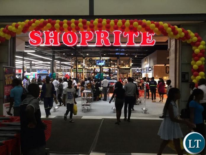 Entrance to the new Shoprite store at EastPark Mall