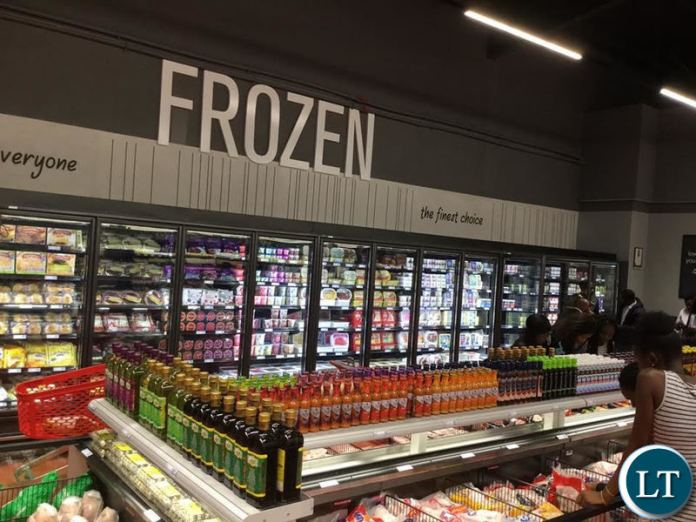Inside the new Shoprite store at EastPark Mall1