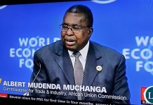 African Union Commissioner for Trade Albert Mudenda Muchanga