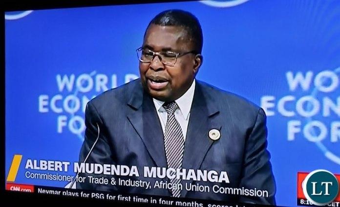 African Union Commissioner for Trade Albert Mudenda Muchanga