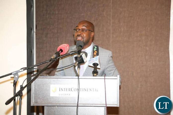 Higher Education Minister Dr Brian Mushimba