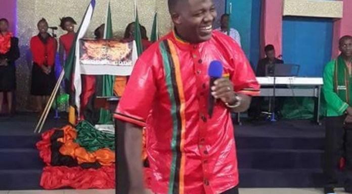 Lusaka clergyman Sunday Sinyangwe
