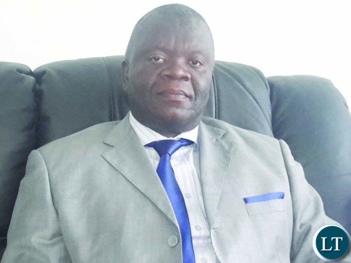 Kanchibiya Member of Parliament Dr Martin Malama