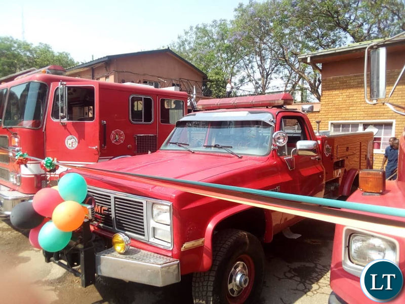 The Donated Fire Trucks