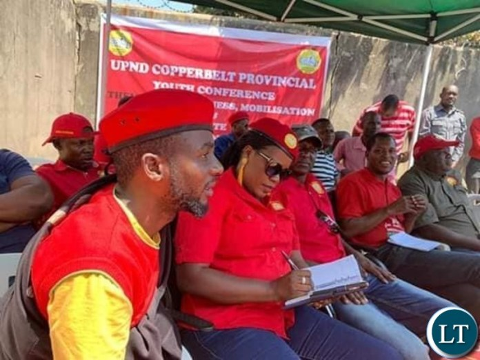 UPND Youths at a conference