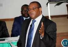 Bank of Zambia Governor Dr. Denny Kalyalya