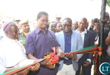 His Excellency President Dr. Edgar Chagwa Lungu