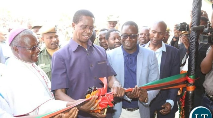 His Excellency President Dr. Edgar Chagwa Lungu