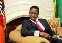 His Excellency Dr. Edgar Chagwa Lungu