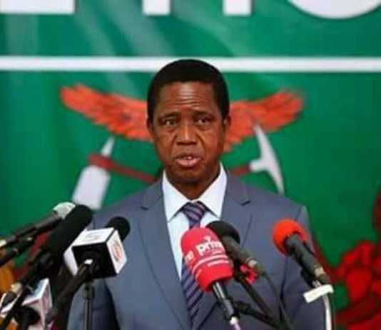 His Excellency Dr. Edgar Chagwa Lungu