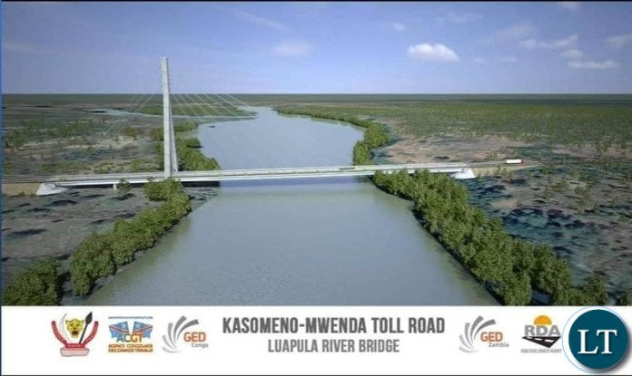 The Kasomeno - Mwenda toll road and Luapula Bridge project