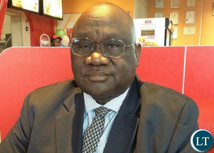 UPND Nalikwanda Member of Parliament Geoffrey Lungwangwa