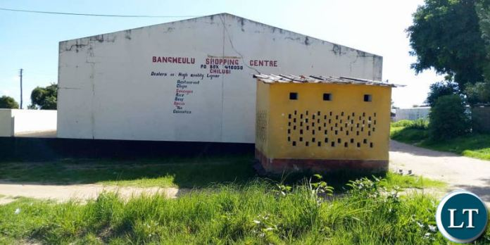 The Shopping Complex where the Chilubi College Nursing and Midwifery has now been moved to