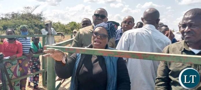 Livestock and Fisheries Minister Nkandu Luo