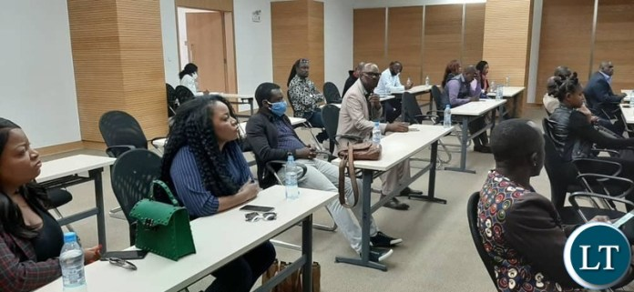 Some of the Artists that attended the meeting in Lusaka
