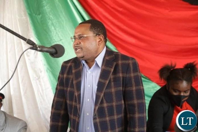 Local Government Permanent Secretary Bishop Ed Chomba