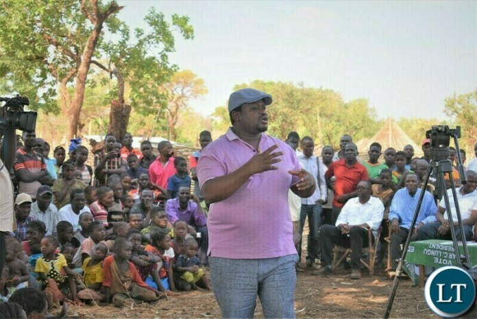 Minister Chiteme explain ZIFL Project funds for cooperatives to Nyimba Residents