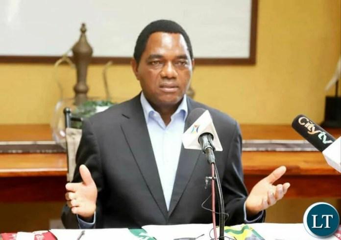 UPND Leader Hakainde Hichilema (HH)