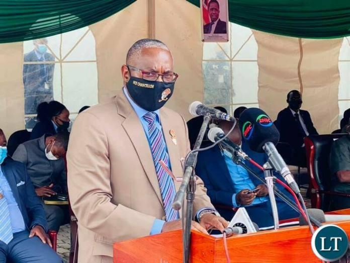 UNZA Vice Chancellor Luke Mumba