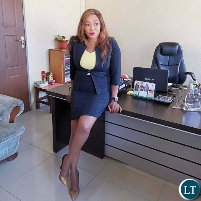 Chingola Council Director of Housing and Social Services Ms. Tilyenji Mwanza