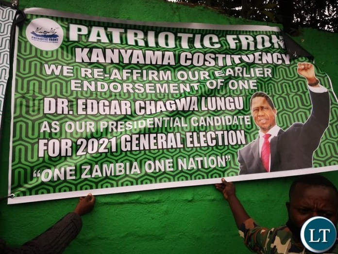 Patriotic Front (PF) Provincial structures nail their colours to the mast pledging to rally behind the candidature of President Edgar Lungu during the party's convention slated for this weekend.