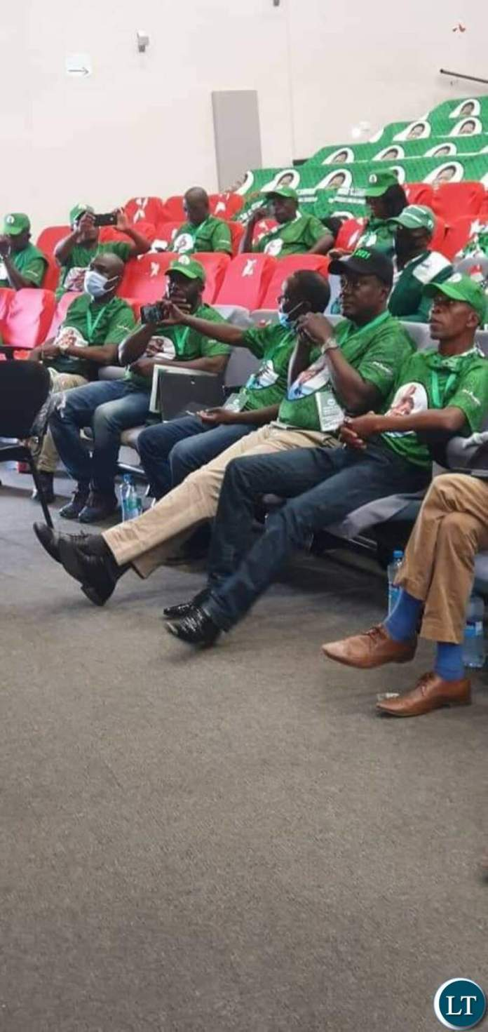 """PF delegates at the party's convention"""""""