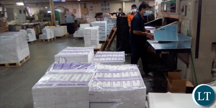 In Al Ghurair plant with printed ballot papers for local government elections