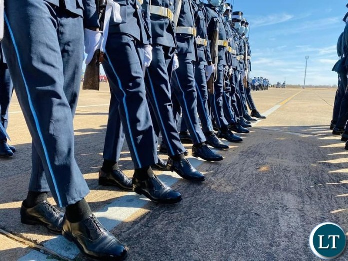 The commissioning of 30 officer cadets of the Zambia Air force in Livingstone