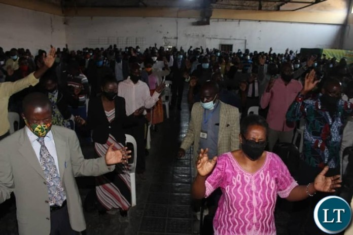 Clergy from districts on the copperblt gathered in Kitwe to declare their commitment to see President Lungu back in power .