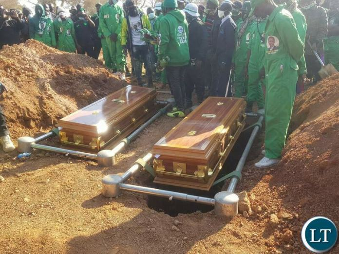 The Burial of Two Political Violence Victims