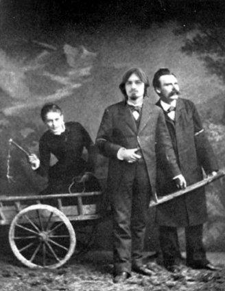 Mit Lou Salomé und Friedrich Nietzsche (2008)