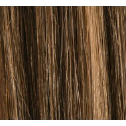 20 Clip In Human Hair Extensions FULL HEAD 427 Dark