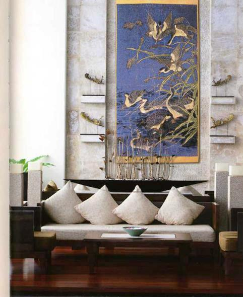feng shui art for living room aarons sets home step 6 design and decorating small decor accessories to a with light pleasant atmosphere