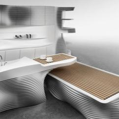 Tables For Small Kitchen Spaces Slide Out The Art Of Interior Design, Futuristic Furniture And ...