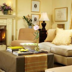 Light Color Living Room Design Furniture Designs For Paint Colors Home Staging Cream Beauty Adding Warmth And With Yellow Walls In Neutral