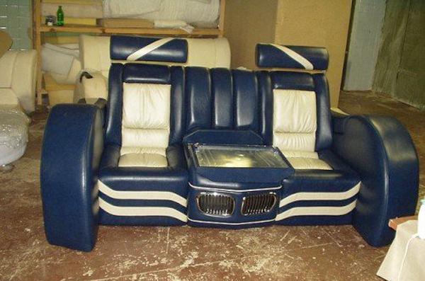 Unique Furniture Design to Recycle Car Junk Yards Parts
