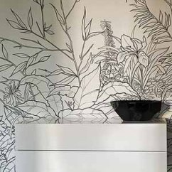 Black And White Wallpaper Ideas For Living Room How To Stage A N Design Neutral Modern Interior Color Schemes