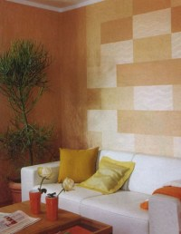 Modern Wall Decor in Patchwork Fabric Style, Wall Design ...