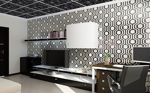 3d Drop Ceiling Panels Contemporary False Ceiling Design Trends