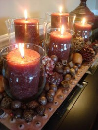 Fall Ideas for Thanksgiving Decorating, Fall Leaves and ...
