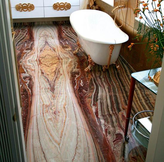 onyx slate tiles for small bathroom