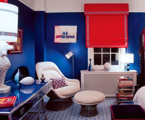 wall colors for living room with black furniture mirrors decor 15 tips interior decorating bright red color ...