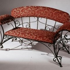 Chair Design Iron Gliding For Nursery Wrought Furniture Chairs And Benches Modern Interior Or Bench With Soft Decorative Cushions Can Dramatically Change Your Bedroom Master Bathroom Creating Home