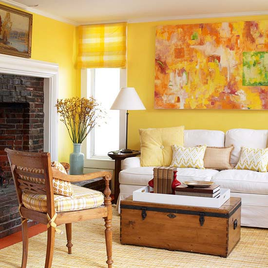 yellow paint ideas for living room to brighten modern interior decorating with color cheerful and wall art