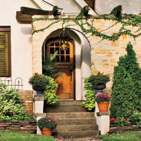 House Entrance and Front Door Decoration Ideas, 20