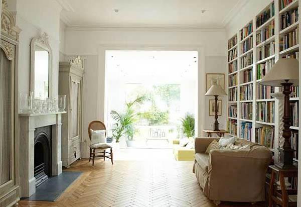 White Decorating, Stunning Balham House Interior Design Ideas