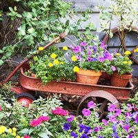 Creative Handmade Garden Decorations, 20 Recycling Ideas